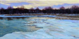 Icy Shoreline, Collingwood